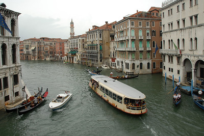 Water ways and canals in Venice, Italy
