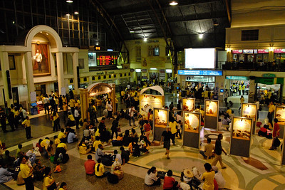 Railway Station at Bangkok, Thailand.