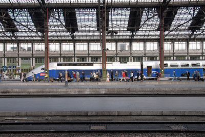 Gare de Lyon. Railway Station in Paris, France
