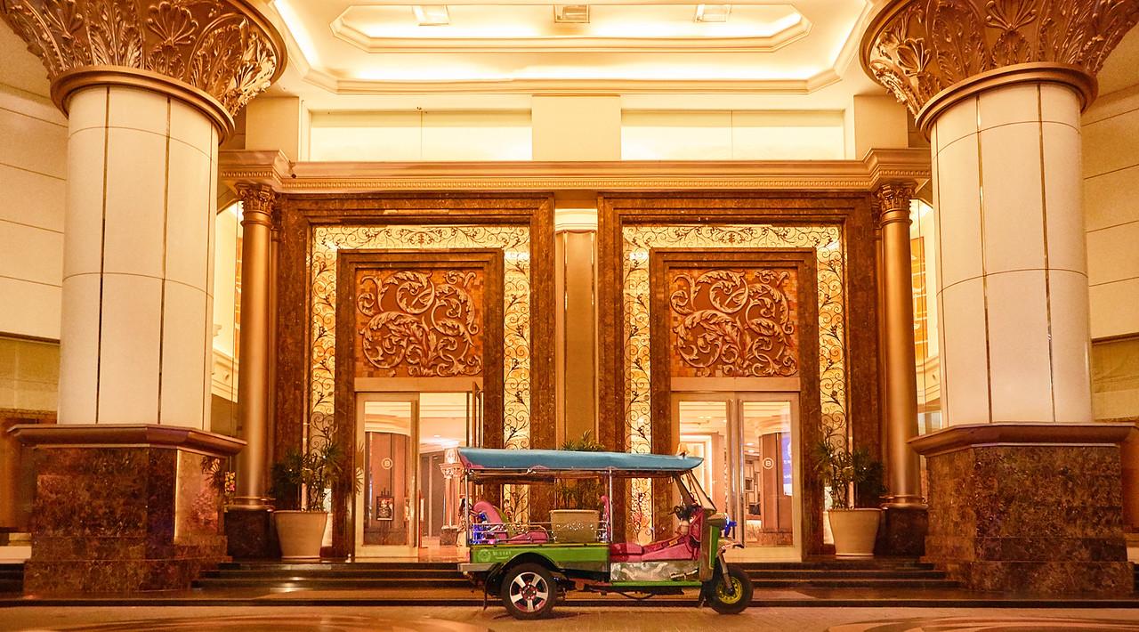 The Berkeley Hotel Pratunam and Tuk Tuk