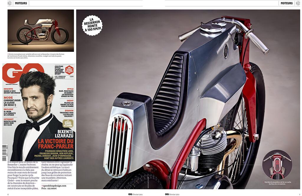 GQ Magazine (France) - February 2011