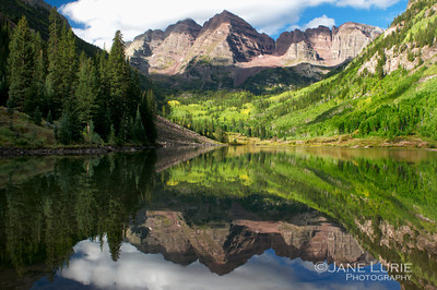 Maroon Bells Reflection, Aspen, CO
