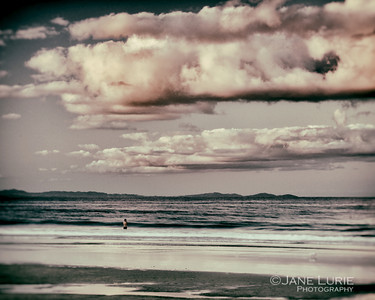 Solitary Swimmer II, Byron Bay