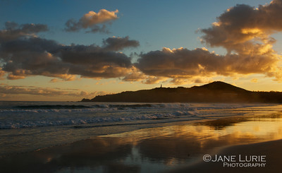 Sunrise and Lighthouse, Byron Bay