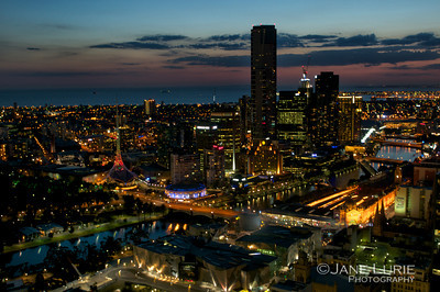 Nightfall, Melbourne