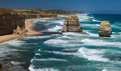 Rock Formation and the Sea, Great Ocean Road