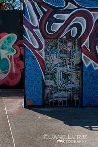 Murals and Door, Bondi Beach
