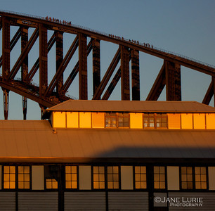 Harbour Bridge Climbers and Pier