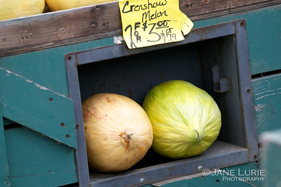 How do you like these melons? :)