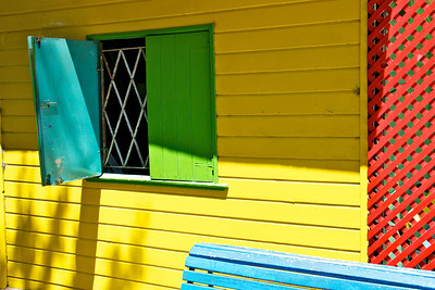 Open Window in La Boca