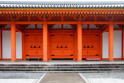Temple Doors, Kyoto