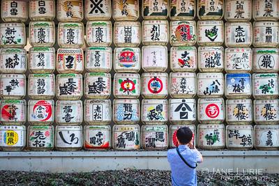 Saki Barrels and Photographer, Tokyo