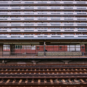 Train Station and Apartments, Kyoto