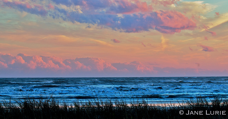 Sunset and Waves, Kiawah Island, SC
