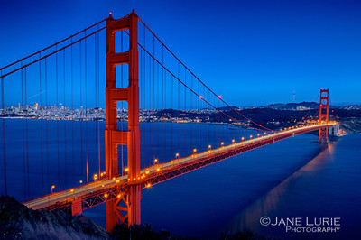Blue Hour, Golden Gate