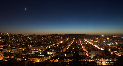 Twilight, San Francisco