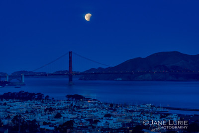 Blue Hour Lunar Eclipse 1.31.18