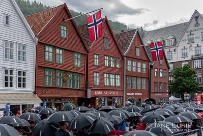 Umbrellas, Bergen