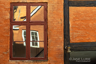 Window Reflecions, Copenhagen
