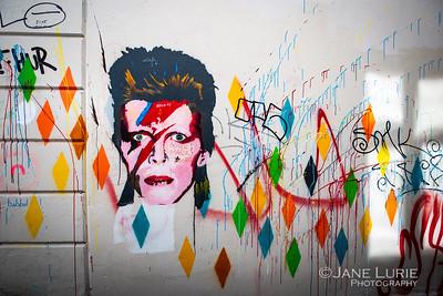 Bowie, Bergen