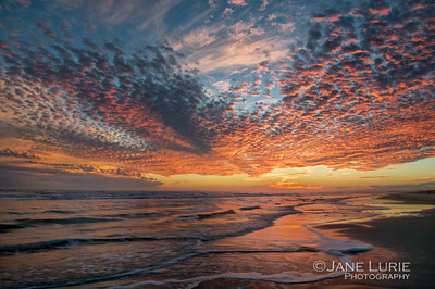 Winter Sunset, Kiawah Island, SC