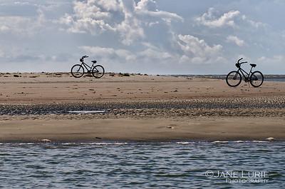 Biking to Captain Sam's