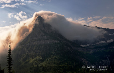 Morning Fog, Glacier National Park