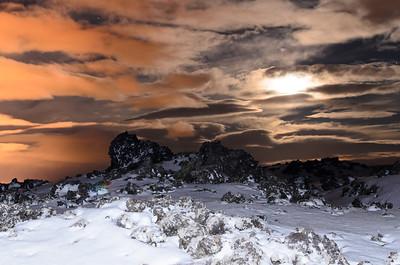 Moonlight, Reykjaenes Peninsula, Iceland