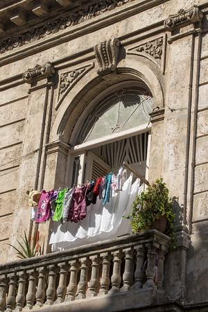 Laundry on Calle Tacon, Old Habana