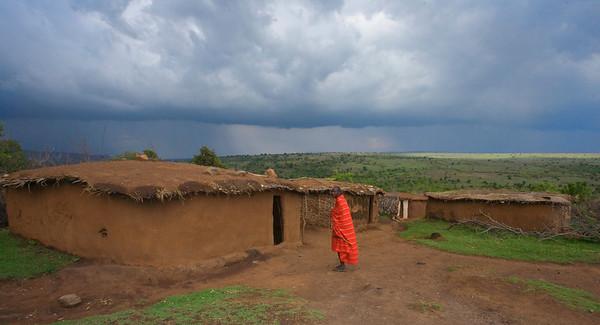 Storm clouds in the Mara