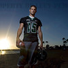 Colt Brennan, quarterback at University of Hawaii on Ala Moana Beach shortly before sunset in Honolulu, Hawaii Thursday, Aug. 16, 2007 After a rough start to his college career, Colt Brennan took over as Hawaii's starting QB and never looked back becoming the schools first All American<br /> since 1978 and setting a single season TD pass record<br /> of 58. (LUCY PEMONI PHOTO)