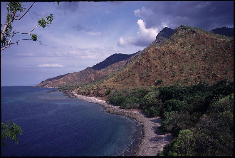Coast North of Dili.