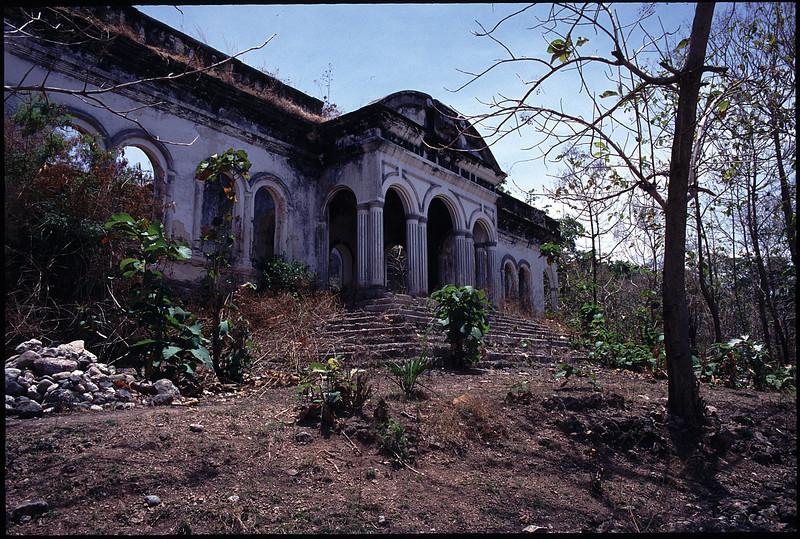 The ruined seminary, Dili.