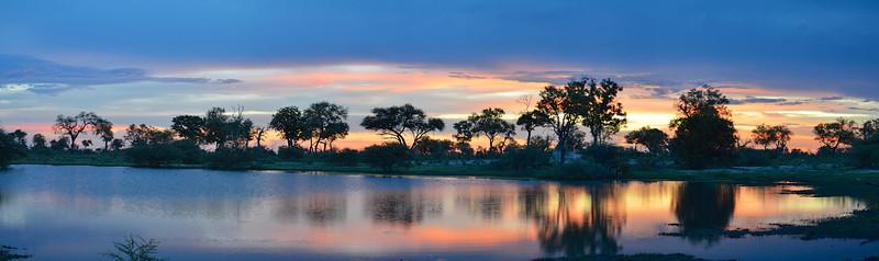 Lebala Lagoon Sunset