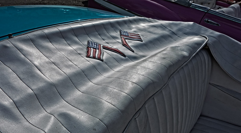 1955 Chevrolet Bel Air Flags