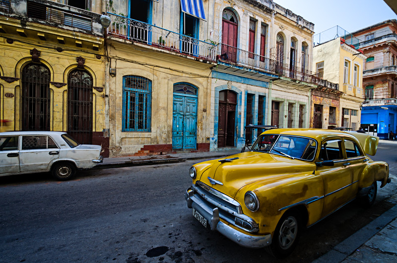 Havana Yellow Chevy