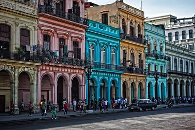 Havana Street Block