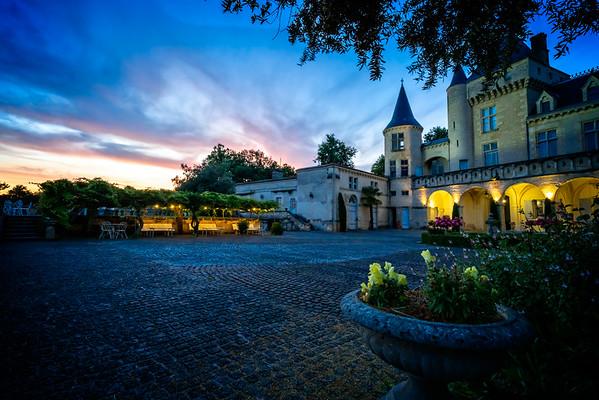 Chateau La Riviere Sunset 3
