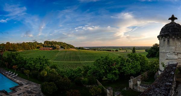 Chateau La Riviere Sunset 4