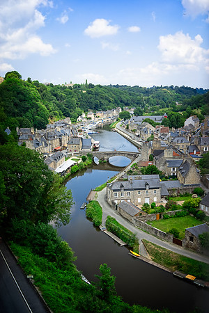 Dinan From Above