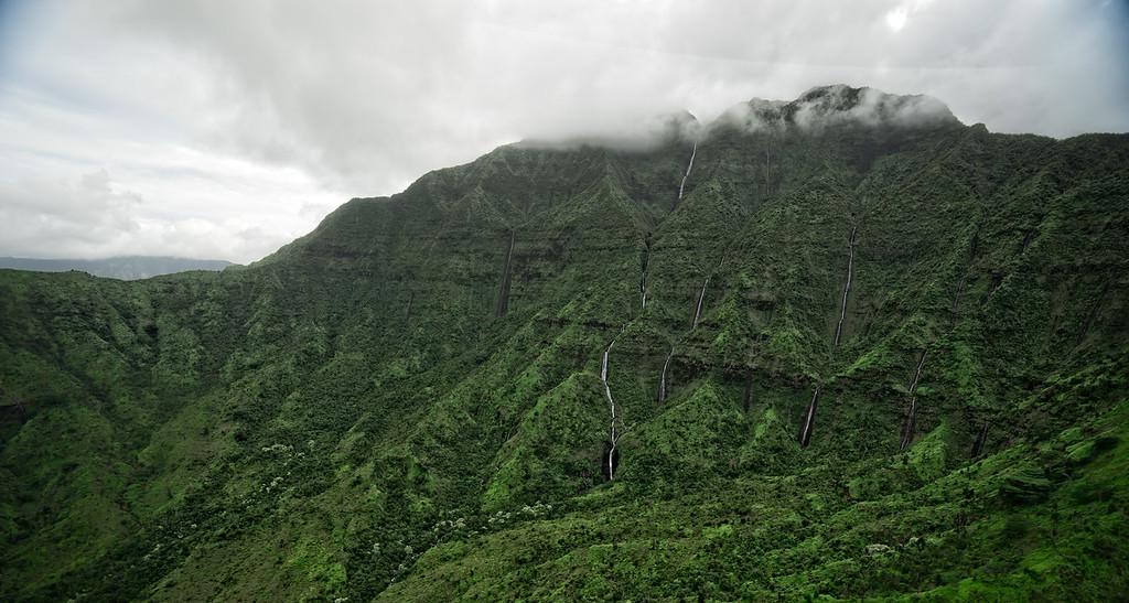 Mount Waialeale Watrerfalls