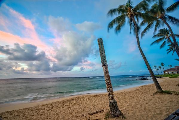 Kiahuna Beach Tiki Kuaui