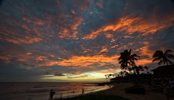 Kiahuna Beach Sunset
