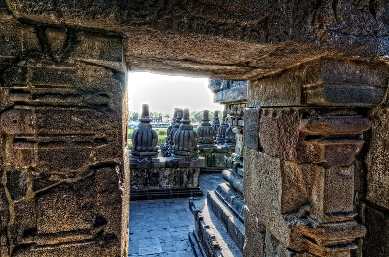 Siva Temple Walkway