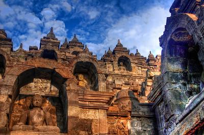 Budda Levels of Borobudur