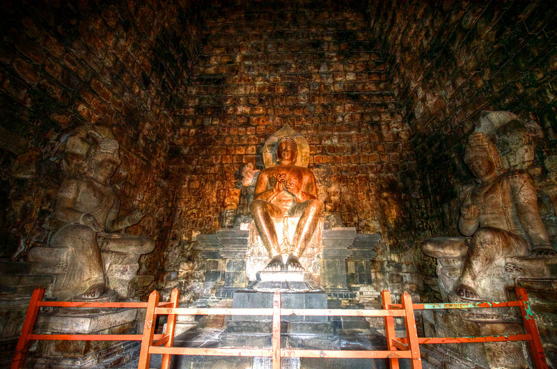 Dhyani Budda of Mendut Temple