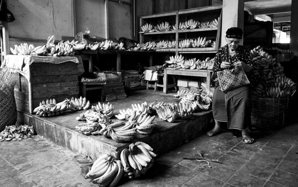 Banana Seller Baringharjo Market