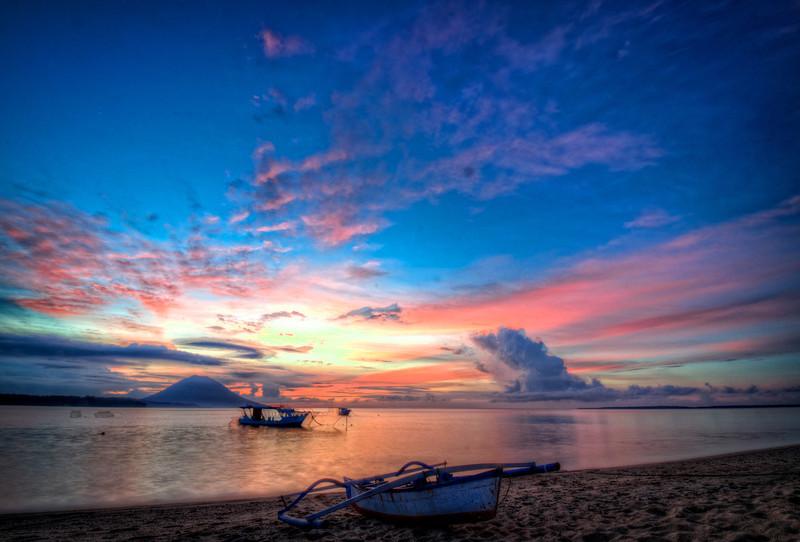Siladen Boat Sunset 2