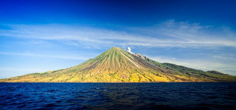 Sangean Volcano Island Activity