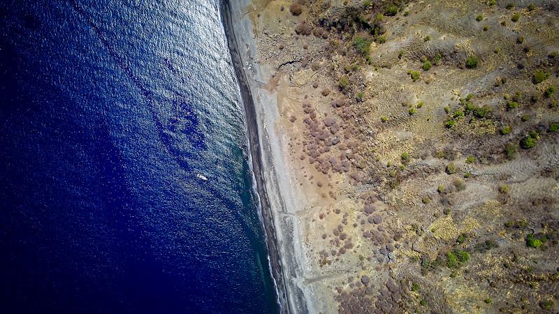 Dive Boat Volcano Island
